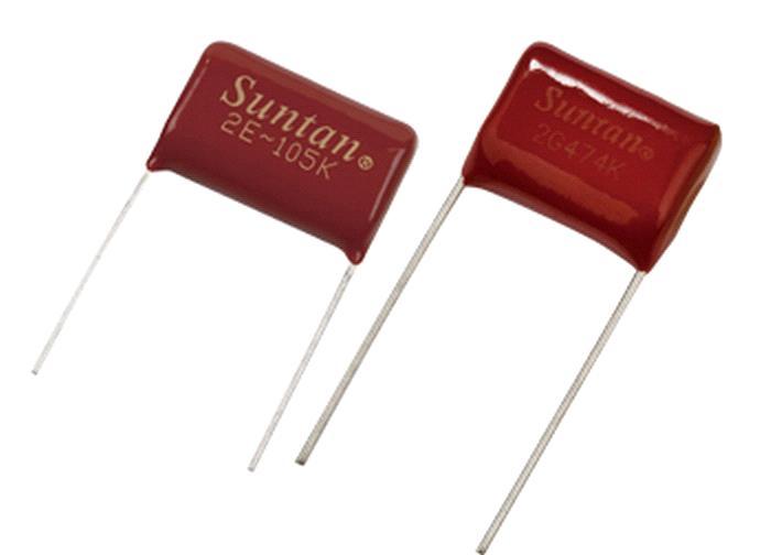 suntan plastic film capacitor from manufacturers factories suntan plastic film capacitors ts02a ts02