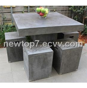 Cement FurnitureConcrete garden Chair China GRC outdoor