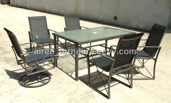 6 Seater Textilene Patio Furniture. 6 Seater Textilene Patio Furniture  AP05026    China Outdoor