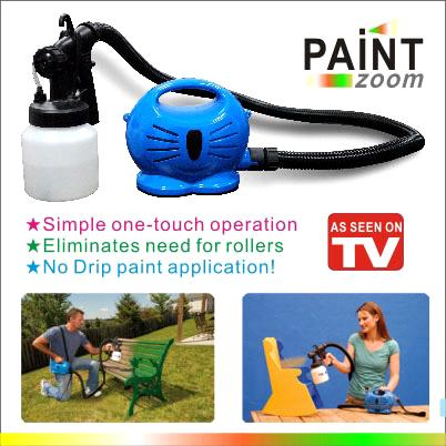 as seen on tv paint zoom spray gun ys 7007 china spray gun paint. Black Bedroom Furniture Sets. Home Design Ideas
