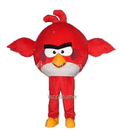 Cartoon Characters Costumes : Angry bird mascot costume cartoon character costumes