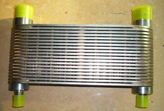 Auto Mobile Engine Oil Cooler : Cummins auto engine parts k  oil cooler
