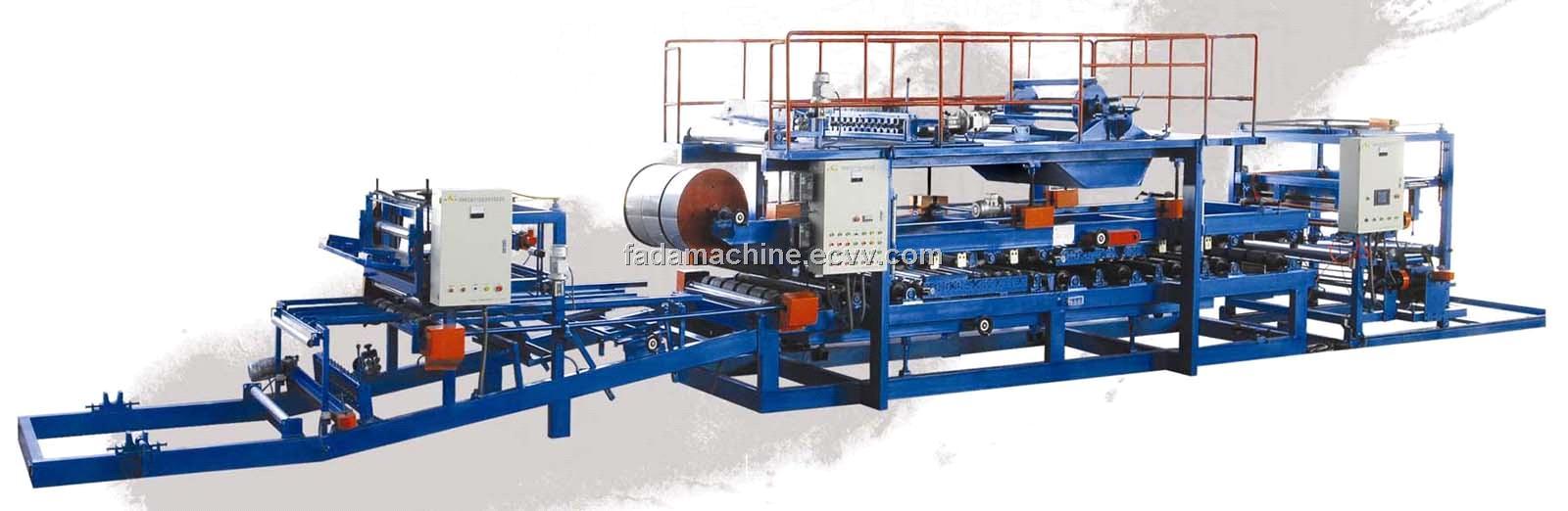Eps Sandwich Panel Machine : Eps composite sandwich panel forming machine purchasing