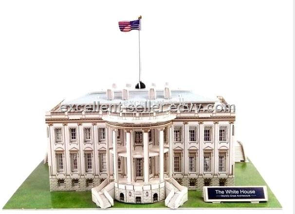 Foam 3d Puzzle The White House Puzzle Of Usa Building
