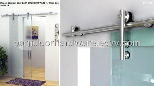 Free Shipping Modern 304 Stainless Steel Barn Door Hardware For