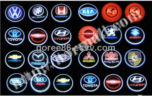 Automotive Logos That Start With D Hot sale!3d logo car led