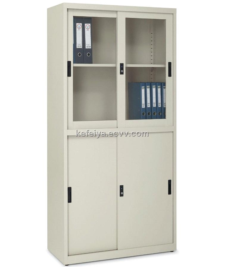 metal cabinets with sliding doors 1