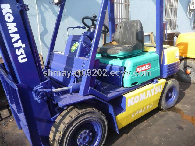 Used 3ton Komatsu Forklift / Komatus FD30