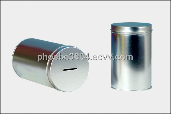 Coin bank tin box coin bank box coin bank metal box money for How to open a tin piggy bank