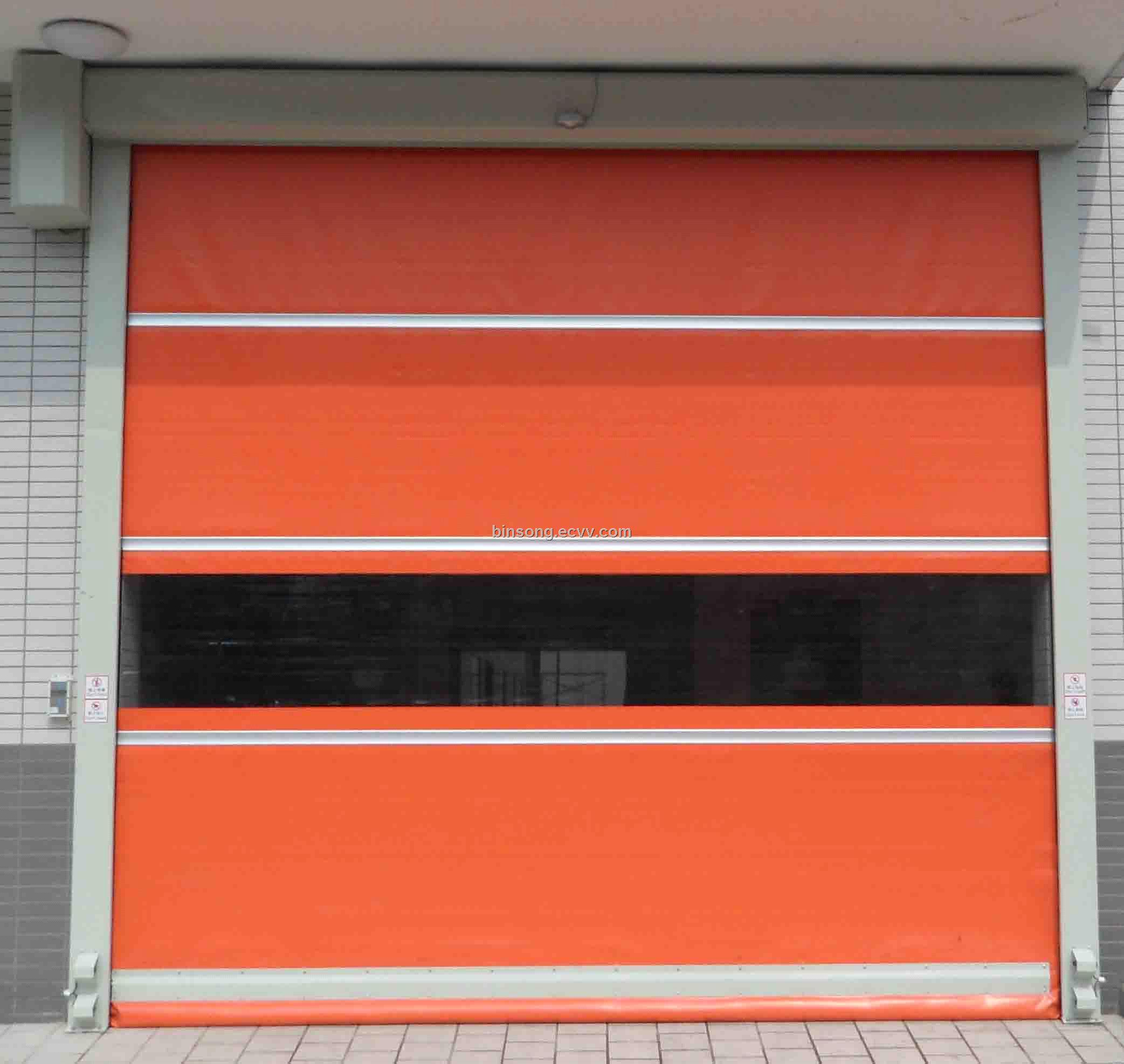 Fast Action Door Roll Fast Door From China Manufacturer