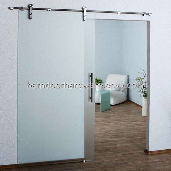 modern glass barn door. Modern Stainless Barn Style Sliding Glass Door Hardware G