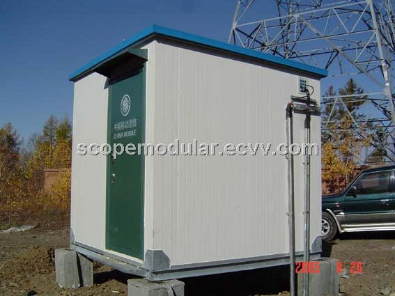 pre-fab house.modular house; generator house