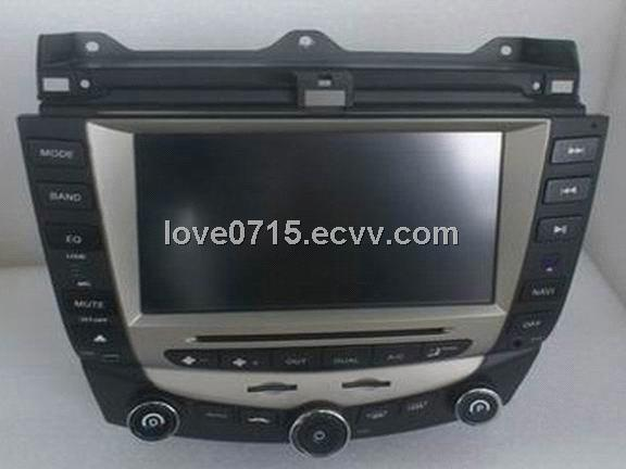 8inch 2 din DVD player  for honda accord with gps and bluetooth (2003-2007)(RAH06)