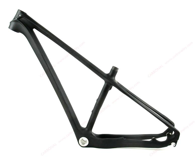 carbon fiber mountain bike frame 29er all internal cable routing and perfect stiffness