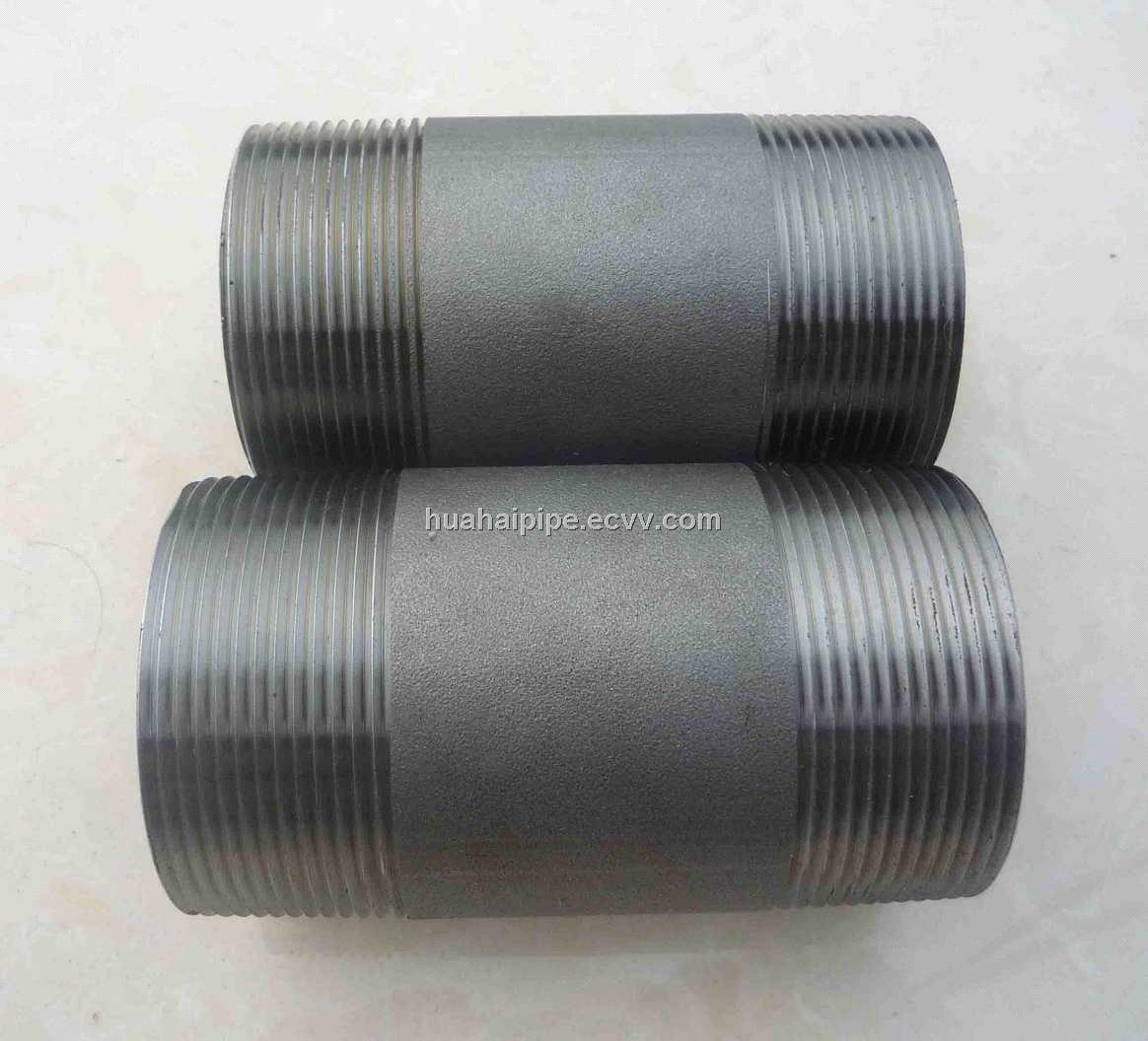 Carbon steel black sch pipe nipple npt purchasing
