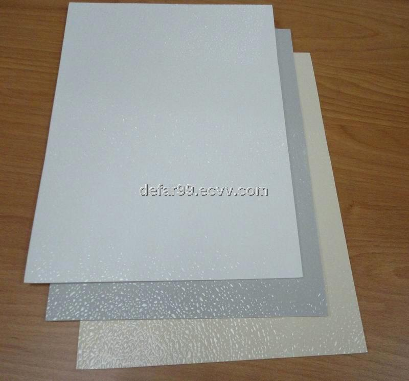 Pebbled Surface Fiberglass Embossed Sheets Purchasing