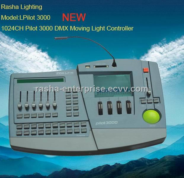 new pilot 3000 102 channels dmx computer moving light controller dj equipments pilot 3000. Black Bedroom Furniture Sets. Home Design Ideas