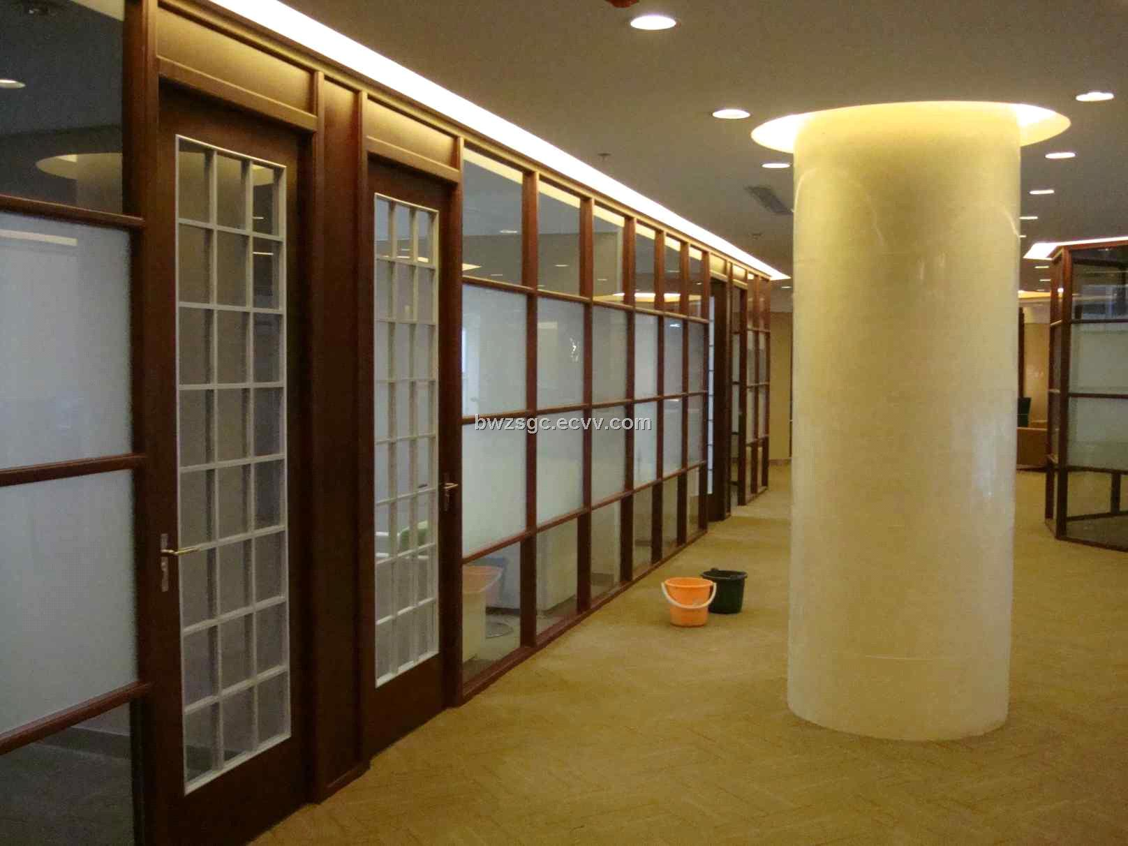 Wood Partition Walls a sleeper wood partition in the outdoor section barricades it from