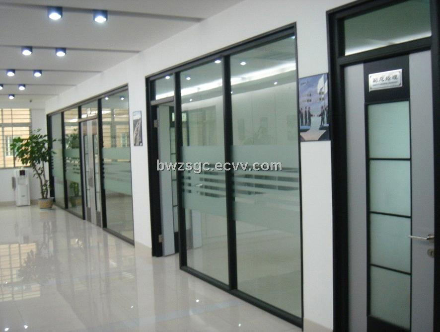 office partition with door. Partition Wall Office Glass Factoty Outlet With Door