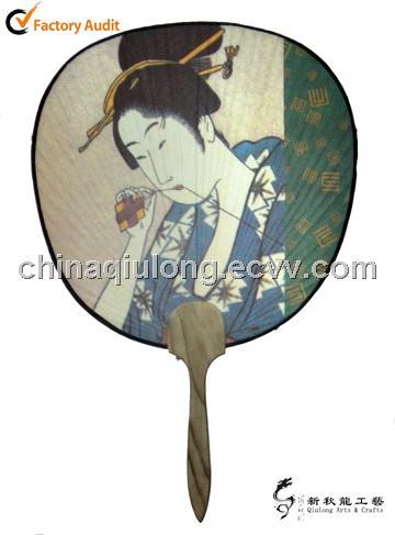 Personalized japanese paper paddle fan purchasing souring agent purchasing service - Japanese paddle fan ...