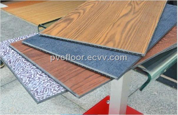 Popular waterproof vinyl flooring wooden grain outdoor for Exterior linoleum flooring