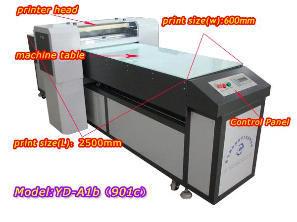 Uv Printer For T Shirt Wood Pvc Metal Textile Etc