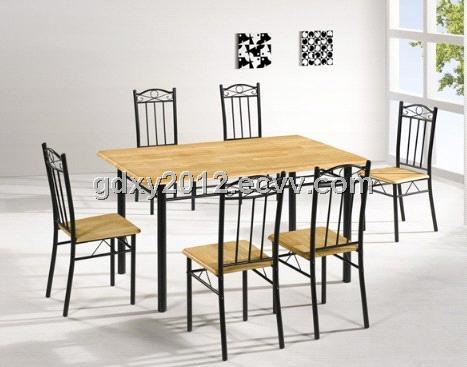 cheap dining table and chair set (1402-1B) - China dining table ...
