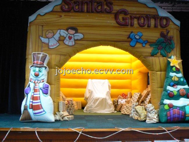 Inflatable Christmas Santa S Grotto Purchasing Souring