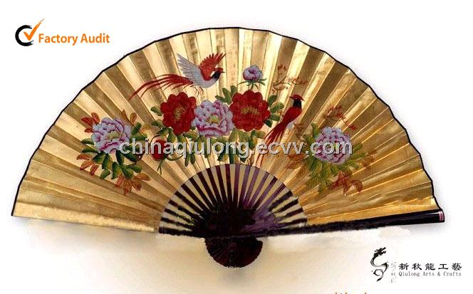 New Home Decorative Bamboo Wall Fan For Gift Purchasing