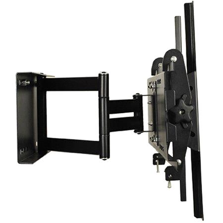 Retractable tv bracket purchasing souring agent ecvv for Motorized swing arm tv mount