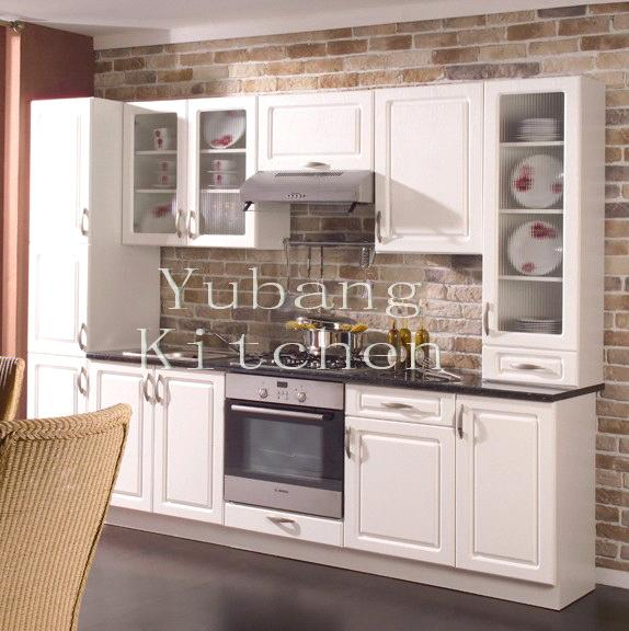 Wood Kitchen 170 China Solid Wood Kitchen Cabinet Yubang Kitchen