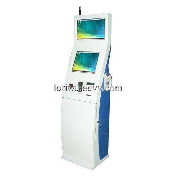 interactive multimedia kiosk /payment touch screen kiosk ...