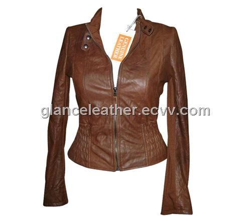 Leather Jackets-Leather Fashion Jackets (GL-1094) - Pakistan