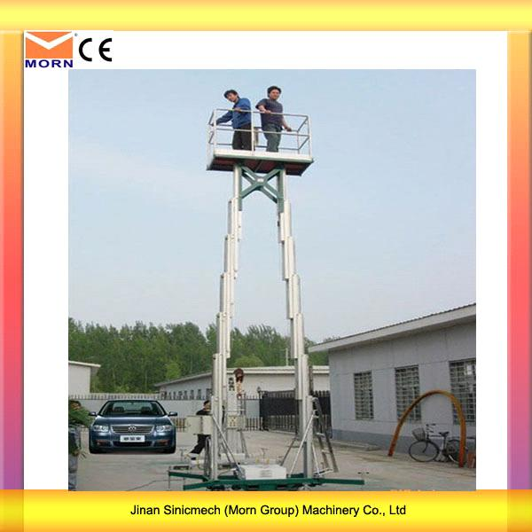 4m Light Weight Electric Mobile Lift Platform1