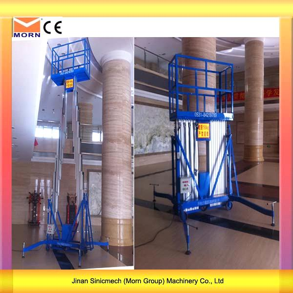 4m Light Weight Electric Mobile Lift Platform2