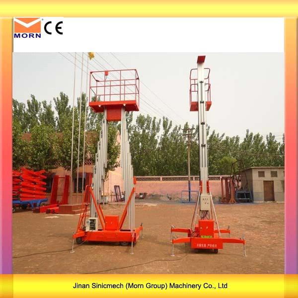 4m Light Weight Electric Mobile Lift Platform4