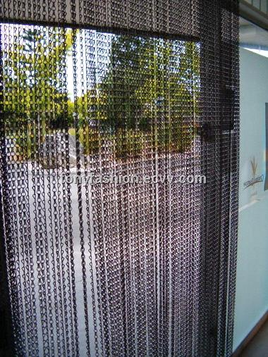 Chain Link Screen ~ Chain link insect door screen purchasing souring agent