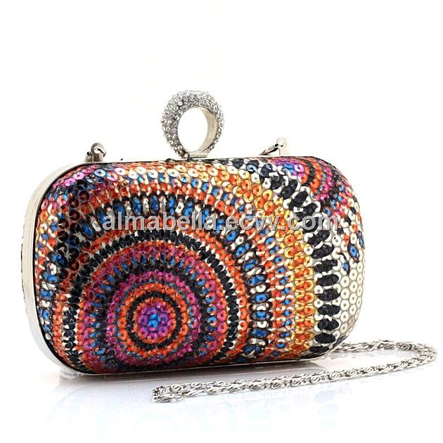 China evening bags,clutches(Sequin Hard Evening Clutch Bag BH-0006 ...