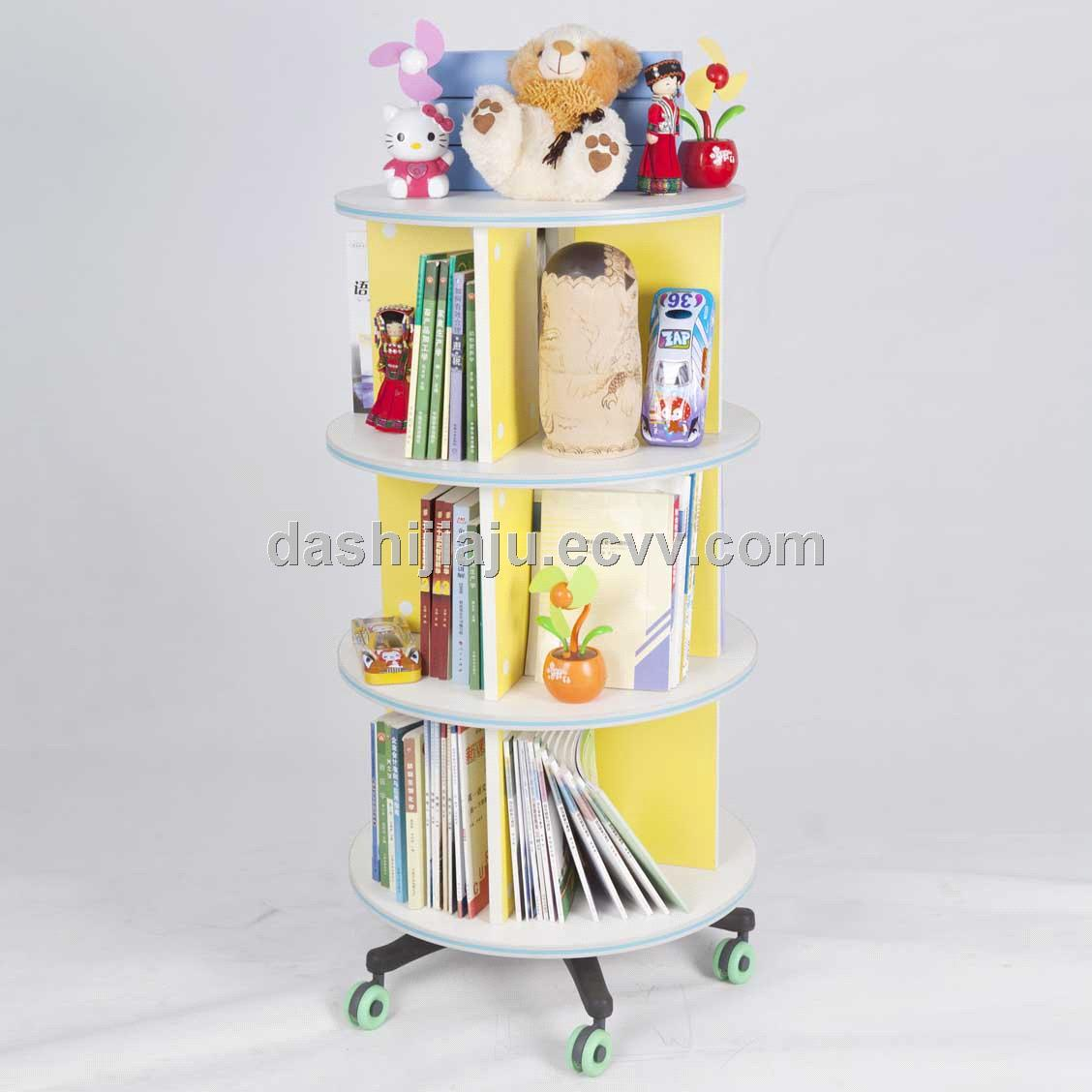 Movable And Revolving Bookshelf Purchasing Souring Agent