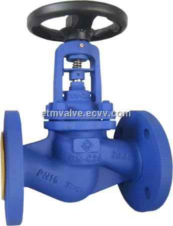 Stop valves with bellows seals - China bellow g
