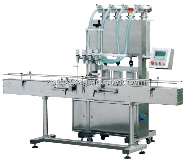 zhy4t-4g automatic liquid filling machine图片
