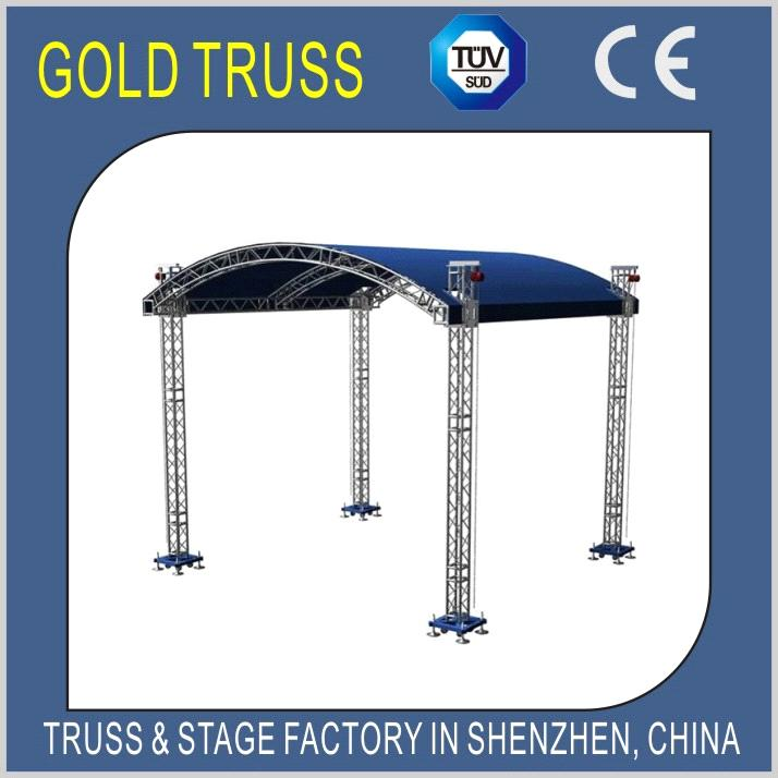 400x400mm Bolt Truss For Stage Truss Canopy Aluminium