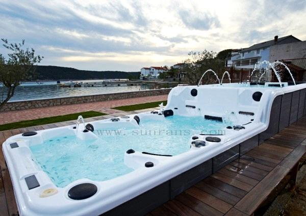 Balboa System Luxury Massage Outdoor Swimming Pool Spa To