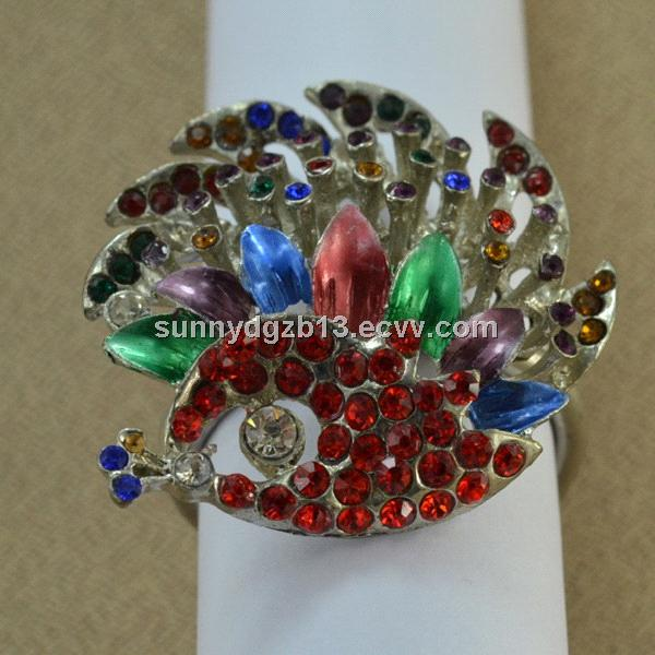 Christmas series accessories metal napkin ring purchasing