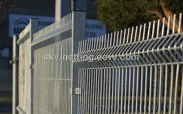 Curved Weld Mesh Heavy Duty Security Fencing Panels Belley