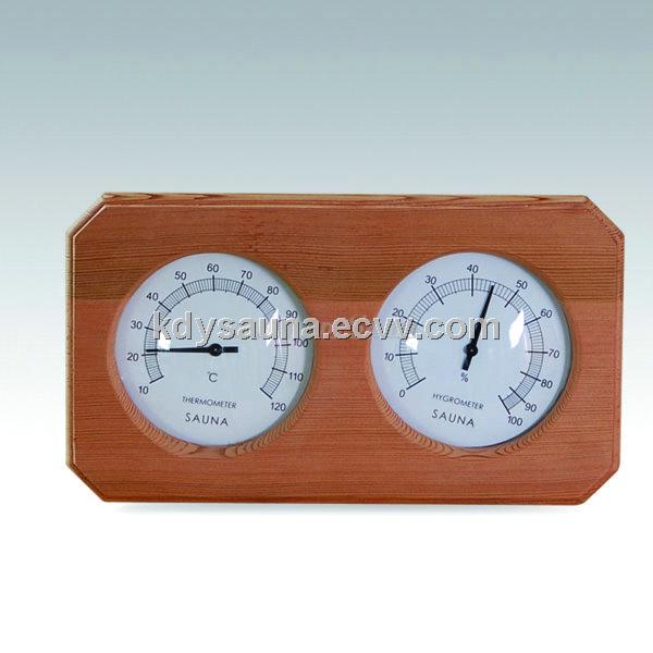 deluxe cedar encased sauna thermometer hygrometer kd 207 purchasing souring agent. Black Bedroom Furniture Sets. Home Design Ideas