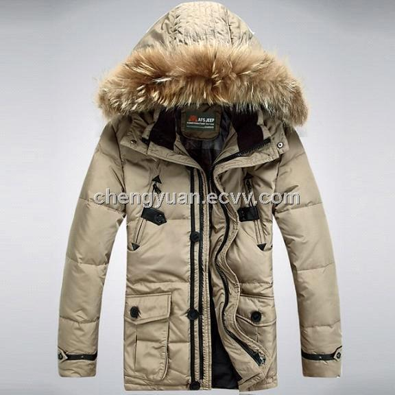 Men's Duck Down jacket 90% down coat down garment - China down ...