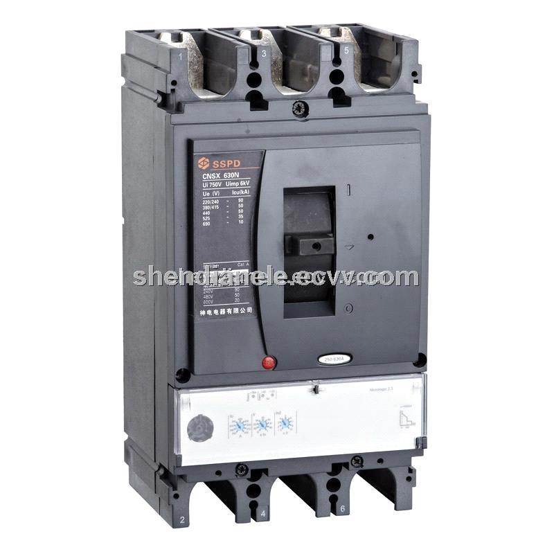 Low Voltage Breaker : Low voltage circuit breaker mccb cnsx p purchasing