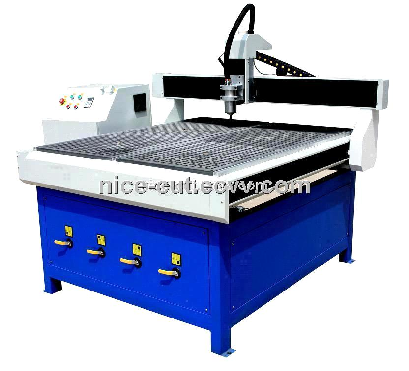 Wood cnc router with air cooling spindle and taiwan for Eastern air devices stepper motor