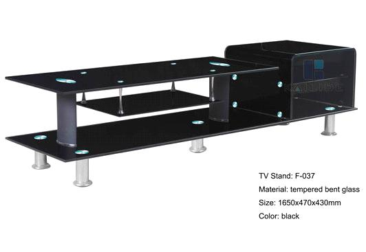New Designed Black Glass Tv Stand Furniture Supplier Chinese Manufacturer Purchasing Souring